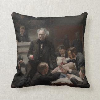 Portrait of Dr. Samuel D. Gross by Thomas Eakins Throw Pillows