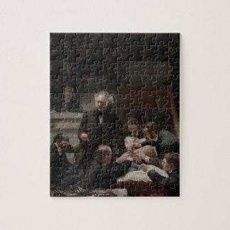 Portrait of Dr. Samuel D. Gross by Thomas Eakins Puzzle