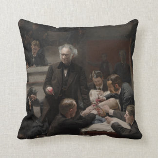 Portrait of Dr. Samuel D. Gross by Thomas Eakins Throw Pillow