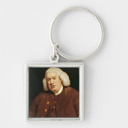 Portrait of Dr. Samuel Johnson Keychain