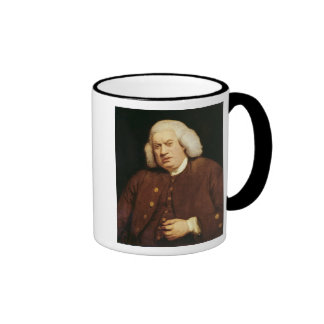 Portrait of Dr. Samuel Johnson Ringer Coffee Mug