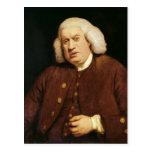 Portrait of Dr. Samuel Johnson Postcard