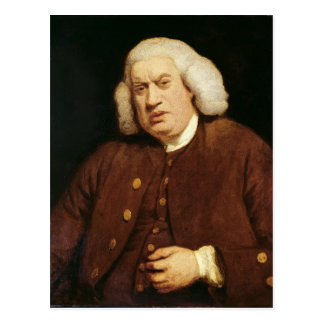 Portrait of Dr. Samuel Johnson Postcard