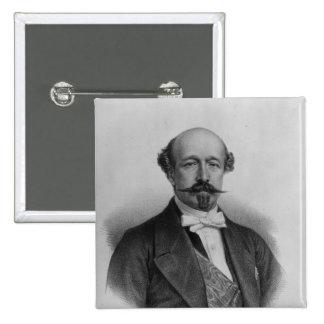 Portrait of Duc Charles de Morny c 1850 Button