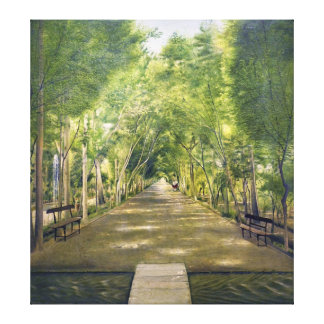 Portrait of Duchamp hills of ol Dushan Tappe Stretched Canvas Prints