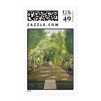 Portrait of Duchamp hills of ol Dushan Tappe Postage Stamp