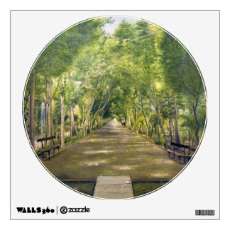 Portrait of Duchamp hills of ol Dushan Tappe Wall Decal