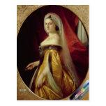 Portrait of Duchess Maria Nikolaevna Postcard