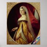 Portrait of Duchess Maria Nikolaevna Poster