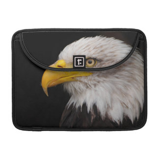 Portrait of eagle sleeve for MacBook pro