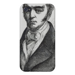 Portrait of Earl Grey iPhone 4/4S Cover