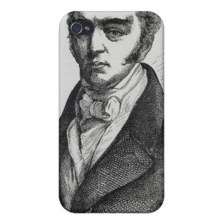 Portrait of Earl Grey iPhone 4 Cases