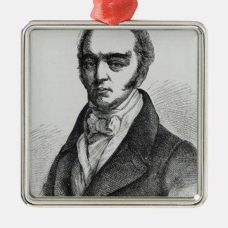 Portrait of Earl Grey Metal Ornament