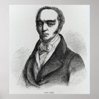 Portrait of Earl Grey Poster
