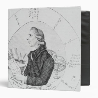 Portrait of Ebenezer Sibly surrounded Binder