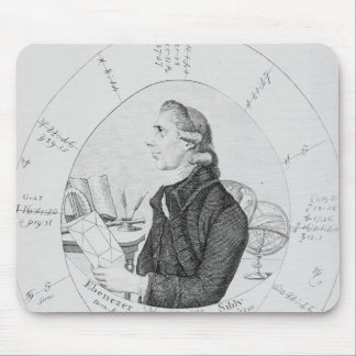 Portrait of Ebenezer Sibly surrounded Mouse Pad