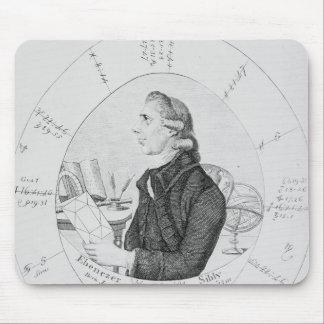 Portrait of Ebenezer Sibly surrounded Mouse Pad