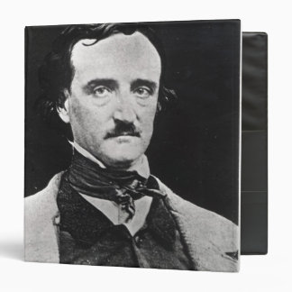 Portrait of Edgar Allan Poe Binder