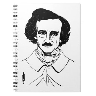 Portrait of Edgar Allan Poe Notebook