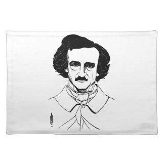 Portrait of Edgar Allan Poe Placemat