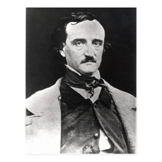 Portrait of Edgar Allan Poe Postcard