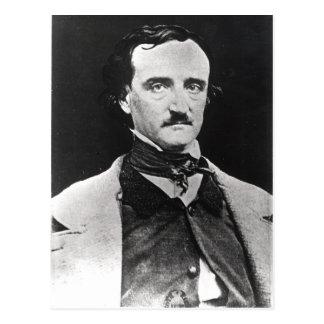 Portrait of Edgar Allan Poe Postcard