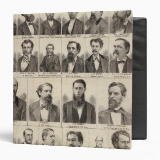 Portrait of Editors and Exeditors, Minnesota 3 Ring Binder