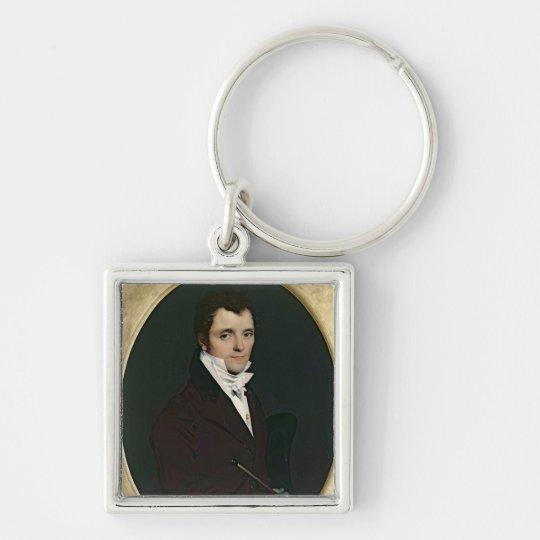 Portrait of Edme Bochet , 1811 Keychain