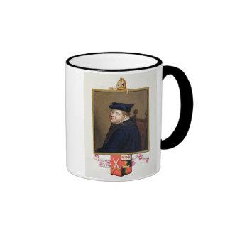 Portrait of Edmund Bonner (c.1500-69) Bishop of Lo Ringer Coffee Mug