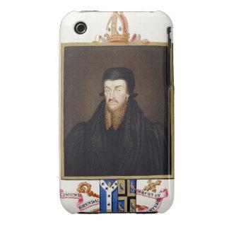 Portrait of Edmund Grindal (c.1519-83) Archbishop iPhone 3 Case-Mate Case