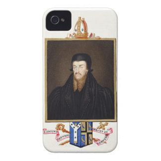 Portrait of Edmund Grindal (c.1519-83) Archbishop iPhone 4 Case-Mate Case