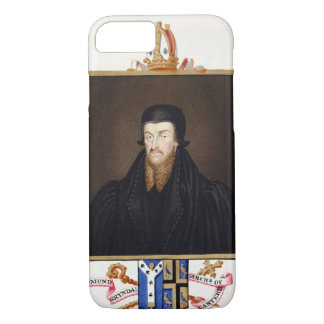 Portrait of Edmund Grindal (c.1519-83) Archbishop iPhone 7 Case