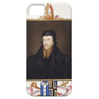 Portrait of Edmund Grindal (c.1519-83) Archbishop iPhone SE/5/5s Case