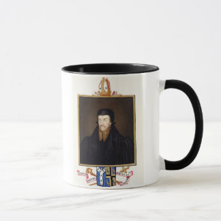 Portrait of Edmund Grindal (c.1519-83) Archbishop Mug