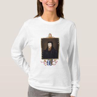 Portrait of Edmund Grindal (c.1519-83) Archbishop T-Shirt