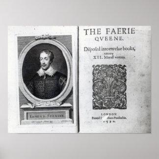 Portrait of Edmund Spenser and the Poster