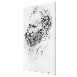 Portrait of Edouard Manet 1832-83 pencil on pap Gallery Wrapped Canvas
