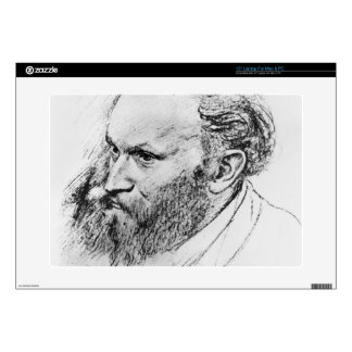 """Portrait of Edouard Manet (1832-83) (pencil on pap Skin For 15"""" Laptop"""