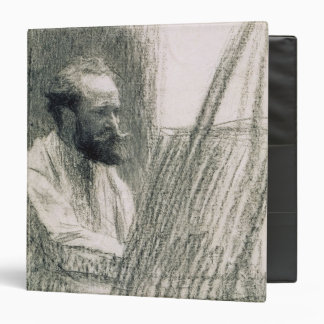 Portrait of Edouard Manet  at his Easel 3 Ring Binder