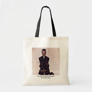 Portrait Of Eduard Kosmack By Schiele Egon Bags