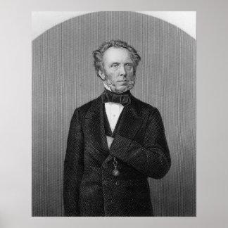 Portrait of Edward Baines Poster