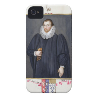 Portrait of Edward Coke (1552-1634) from 'Memoirs iPhone 4 Case-Mate Case