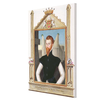 Portrait of Edward Courtenay (c.1526-56) Last Earl Stretched Canvas Prints