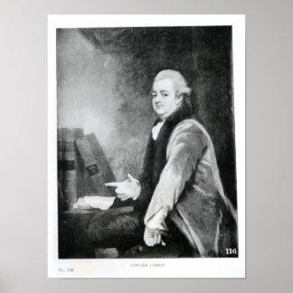 Portrait of Edward Gibbon Posters