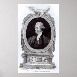 Portrait of Edward Gibbon Print