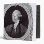 Portrait of Edward Gibbon Vinyl Binder