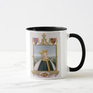 Portrait of Edward III (1312-77) King of England f Mug