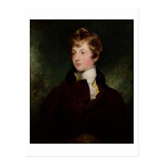 Portrait of Edward Impey (1785-1850), c.1800 (oil Postcard