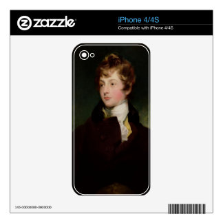 Portrait of Edward Impey (1785-1850), c.1800 (oil Decal For The iPhone 4S