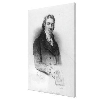 Portrait of Edward Jenner Canvas Print